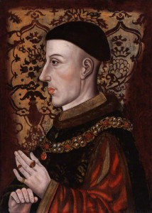 King Henry V by Unknown artist; NPG 545.