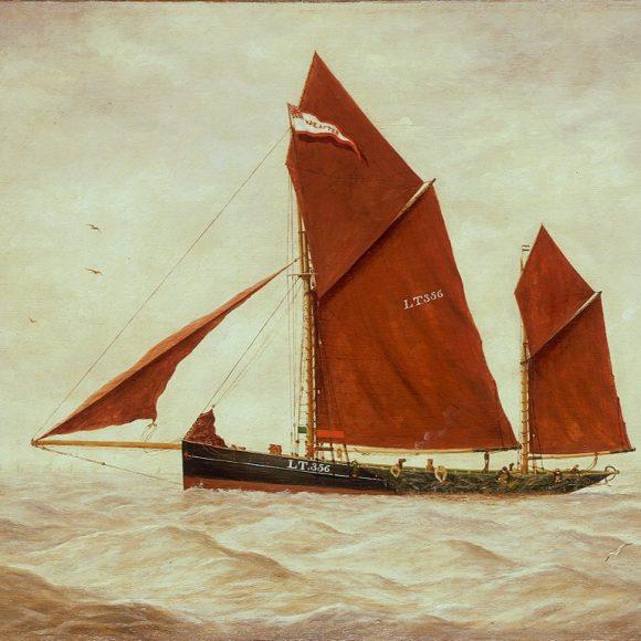 The Lowestoft Trawler