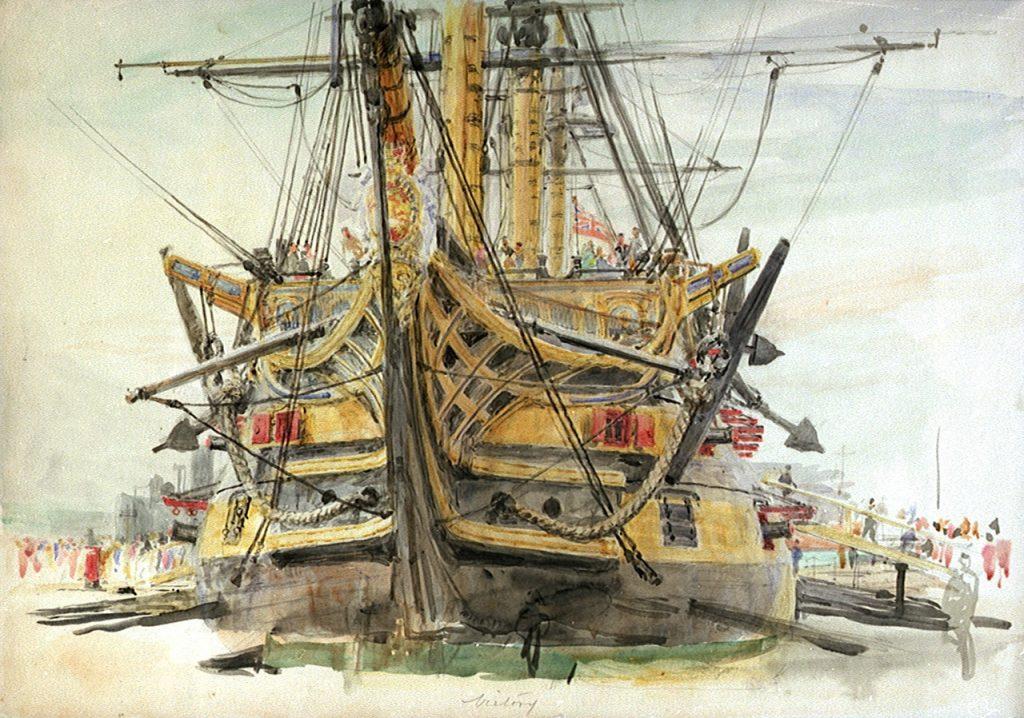 W.L. Wylie (c.1925) HMS Victory NMM: PAF1491