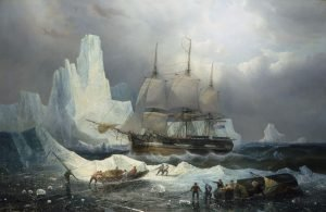 HMS Erebus in the Ice