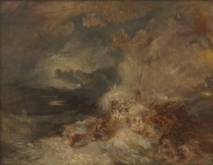 JMW Turner, A Disaster at Sea, c. 1835, Tate, Accepted by the nation as part of the Turner Bequest 1856
