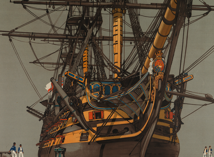 HMS Victory and the Battle of Trafalgar