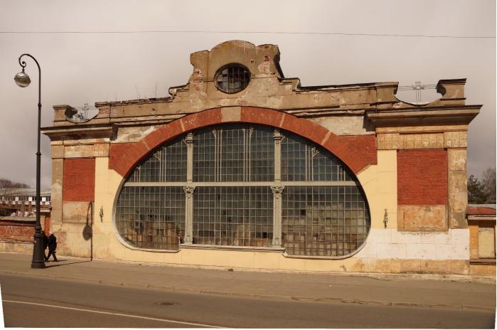Machine Shop in Kronstadt Dockyard (P.Brown)